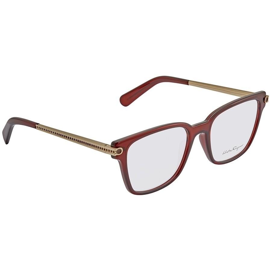 Tom Ford Bordeaux Eyeglasses Ft5392 071 54 by Ferragamo
