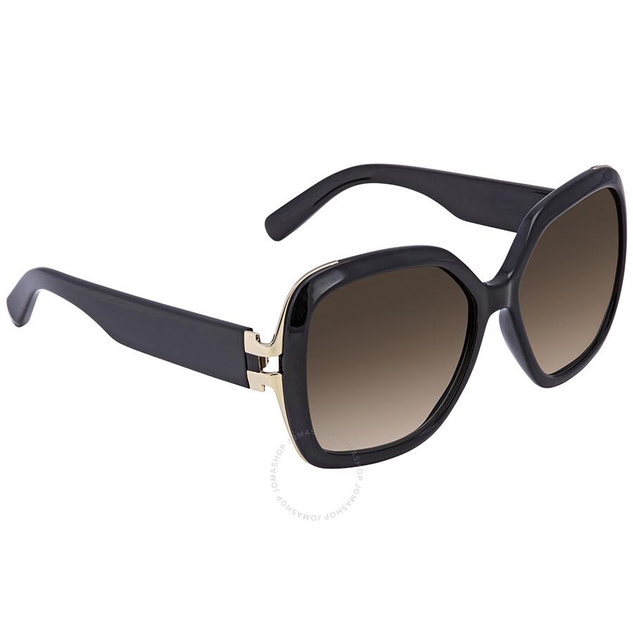 2165e36d007 Salvatore Ferragamo Brown Gradient Square Sunglasses SF781S 001 Item No.  SF781S 001 56