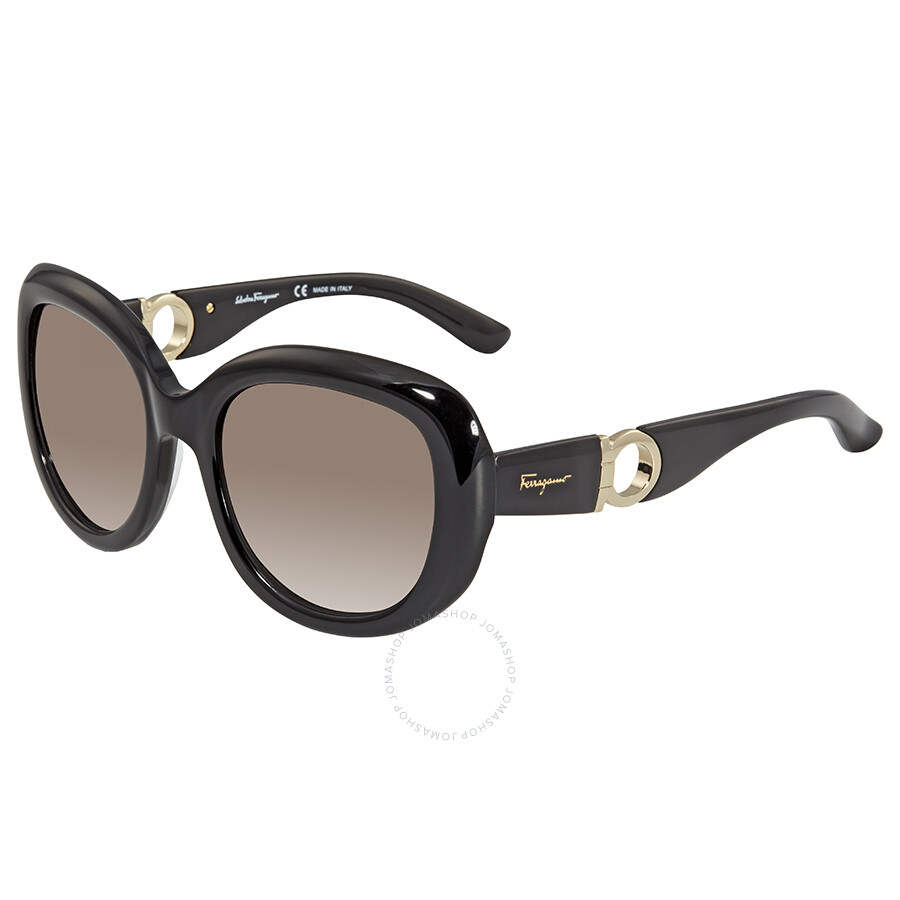 5b8347d28b3 Salvatore Ferragamo Gradient Smoke Oval Sunglasses SF727S 001 Item No.  SF727S 001 53