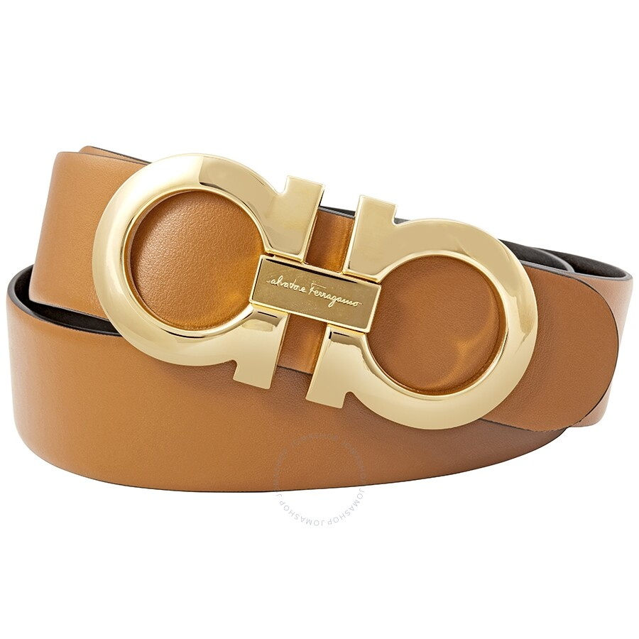 51cb89d75478 Salvatore Ferragamo Medium Reversible Belt- Size 95 Item No. 237601 674446  95 2220 PF17