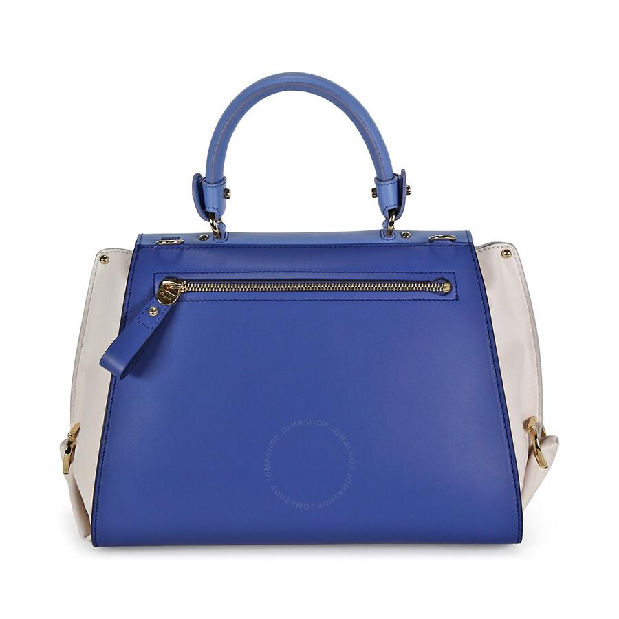 cefb0f207e79 Salvatore Ferragamo Medium Sofia Leather Satchel - Tri-Color ...