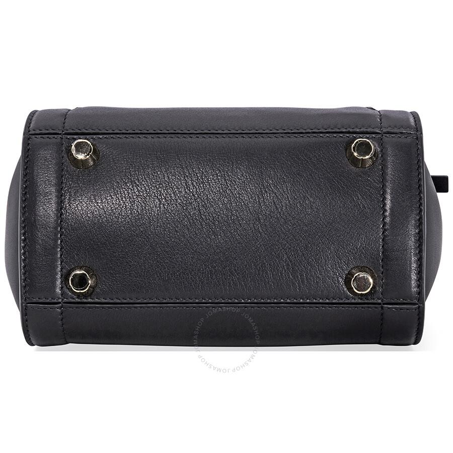 Salvatore Ferragamo Sofia Rainbow Leather Crossbody Bag Black