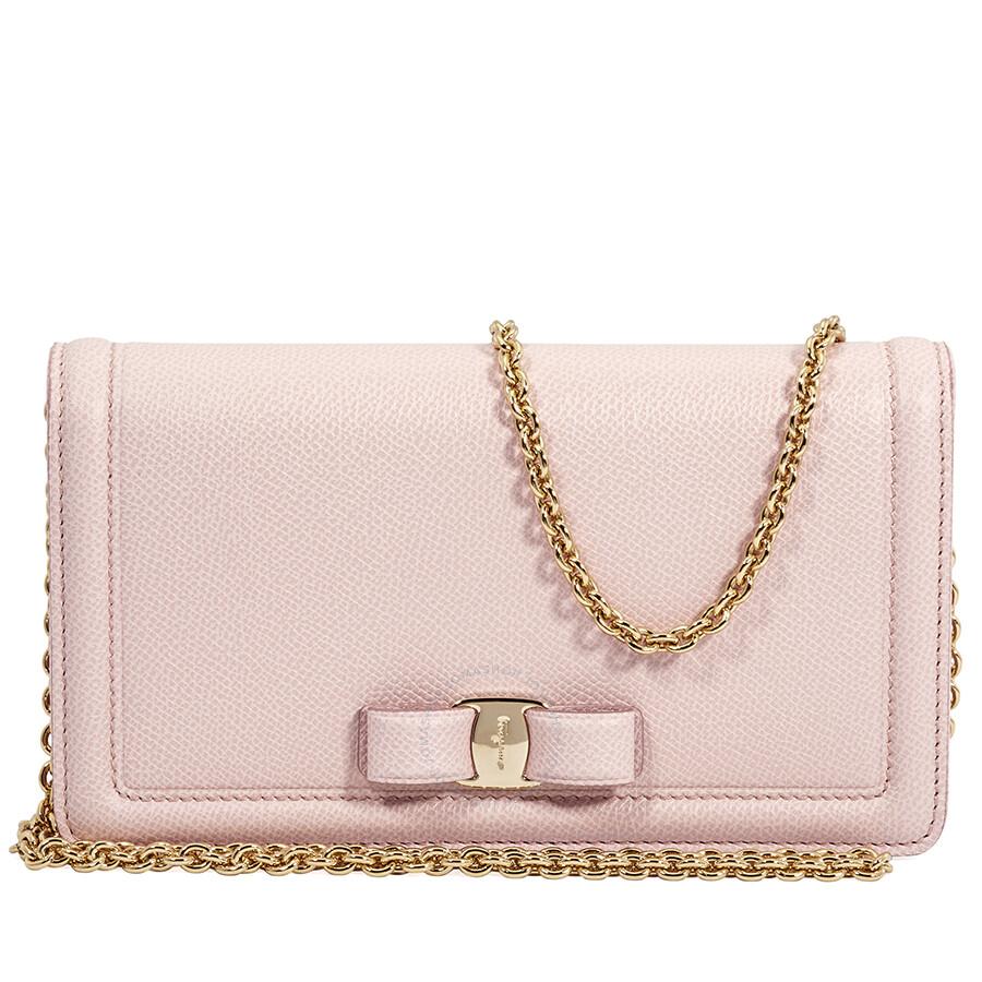 Salvatore Ferragamo Vara Bow Mini Bag- Bon Bon Pink - Salvatore ... 9f39402410d4f