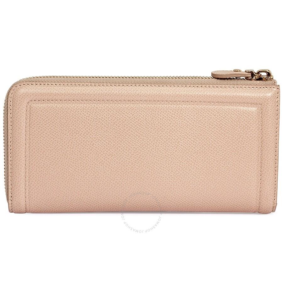 6fa3a551015f Salvatore Ferragamo Zip Around Wallet- Light Beige - Salvatore ...