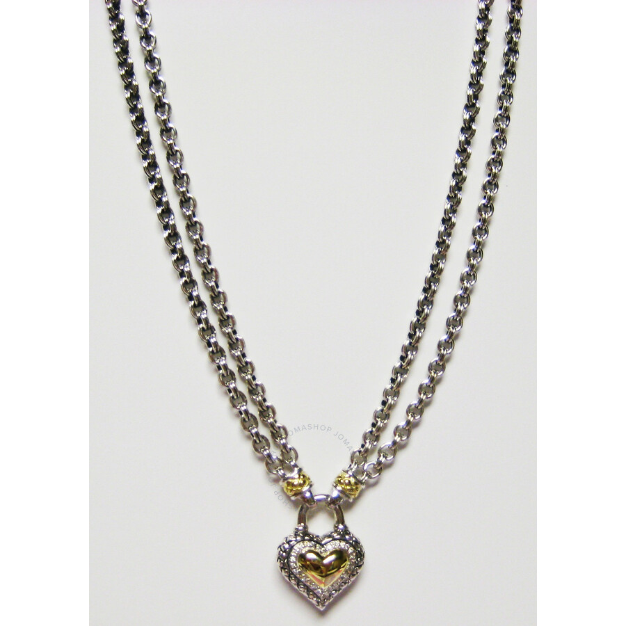 Scott kay double signature chain sterling silver yellow for Kay com personalized jewelry