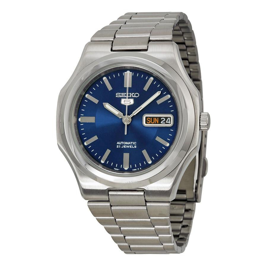 seiko 5 automatic blue dial men 39 s watch snkk45 seiko 5. Black Bedroom Furniture Sets. Home Design Ideas