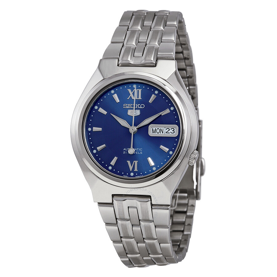 61f2e056d Seiko 5 Automatic Blue Dial Stainless Steel Men's Watch SNK319 ...