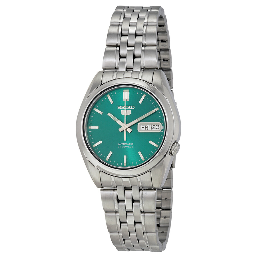seiko-5-automatic-green-dial-stainless-s