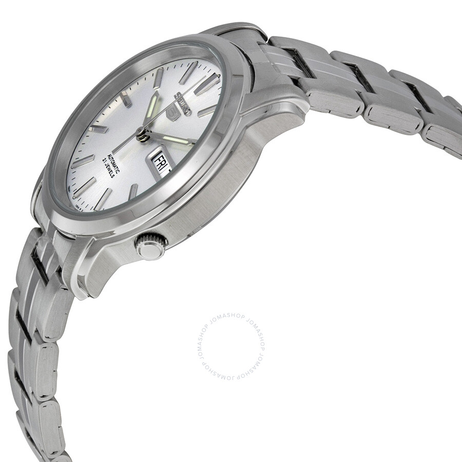 7da0b00a5af9 ... Seiko 5 Automatic Silver Dial Stainless Steel Men s Watch SNKK65 ...