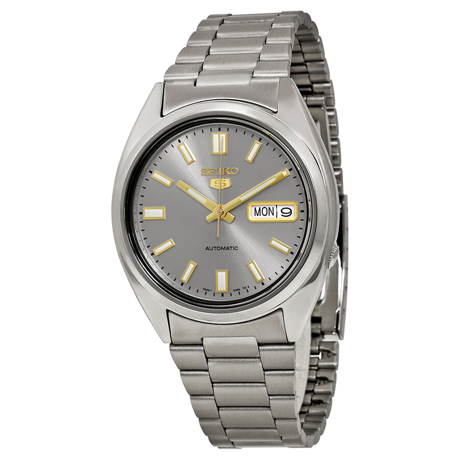 Image result for Seiko 5 Automatic Stainless Steel