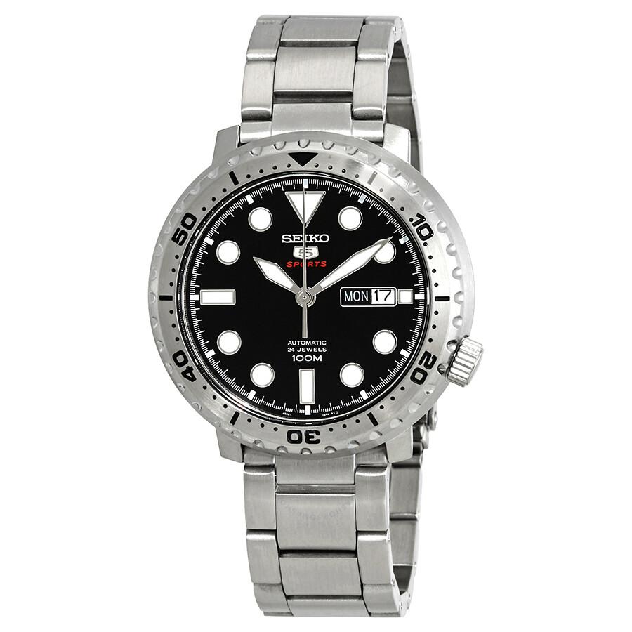 db442e080 Seiko 5 Sport Automatic Black Dial Men's Watch SRPC61 - Seiko 5 ...