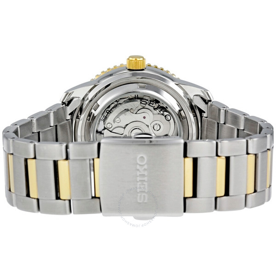 Seiko 5 Sports Automatic World Timer Two Tone Men S Watch Srp130k1