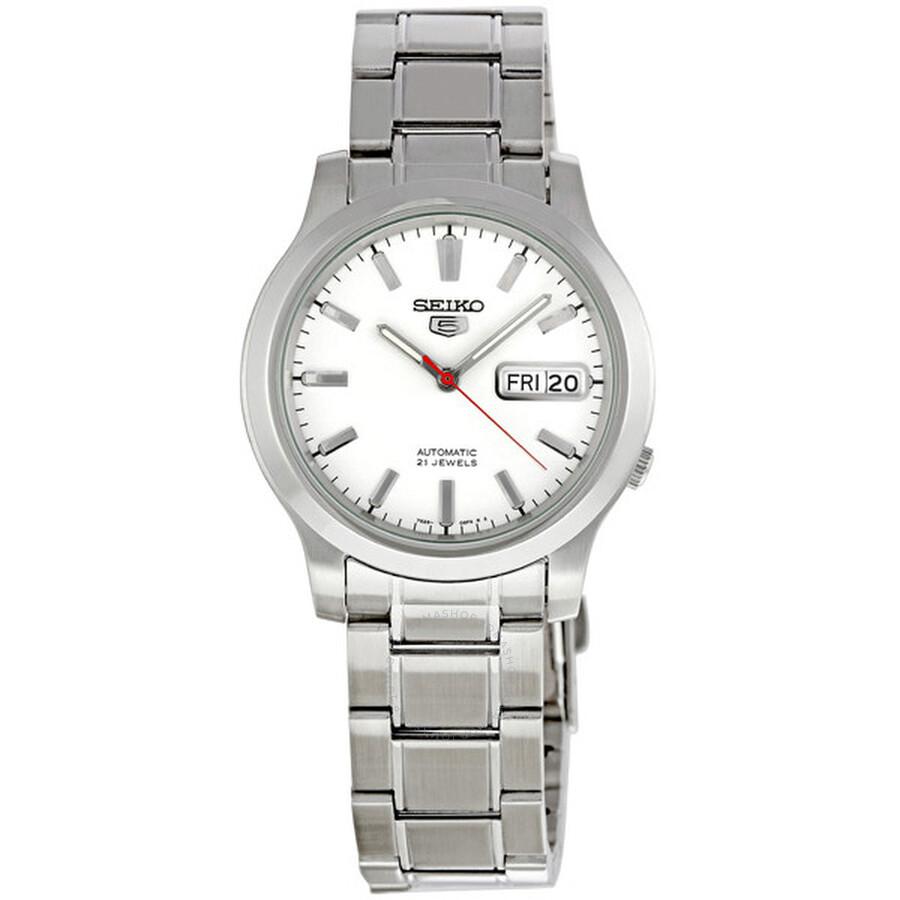 e5b51d2da Seiko Seiko 5 Automatic White Dial Men's Watch SNK789 - Seiko 5 ...