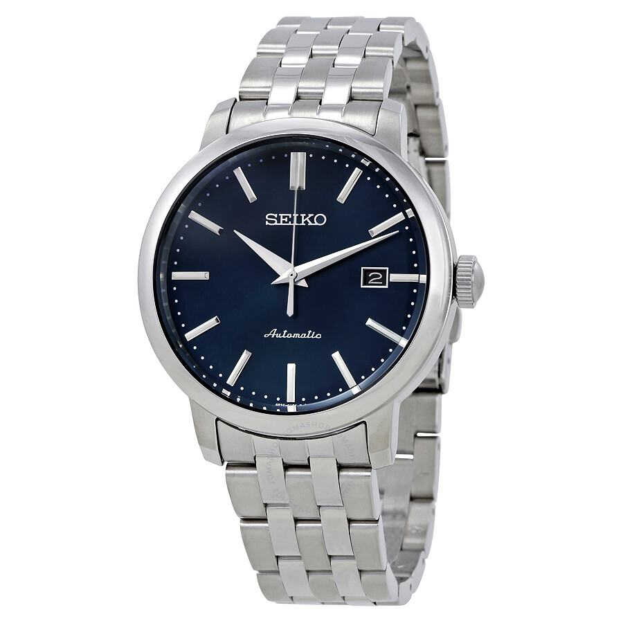 seiko automatic blue dial men 39 s watch srpa25 seiko. Black Bedroom Furniture Sets. Home Design Ideas