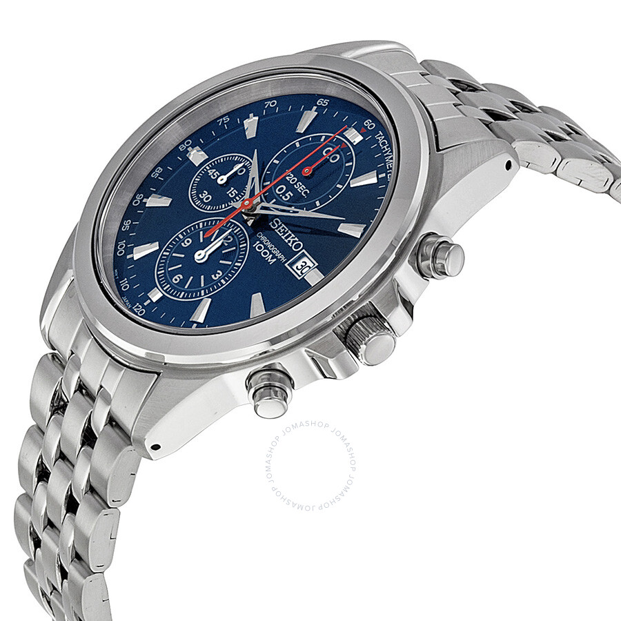 Seiko Watch Sgef77p1 Mens Blue Dial Stainless Steel Famous Movie Solar Ssc221 Silver Buy Watches For Men Women From Us At The Best Competitive Price Authentic Gents Sgef77