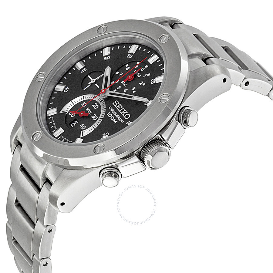 Seiko stainless steel chronograph watch - Best cheap smart tv