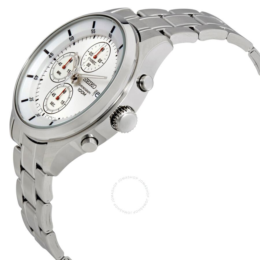 761930752 Seiko Silver Dial Chronograph Men's Watch SKS535 Seiko Silver Dial  Chronograph Men's Watch SKS535 ...