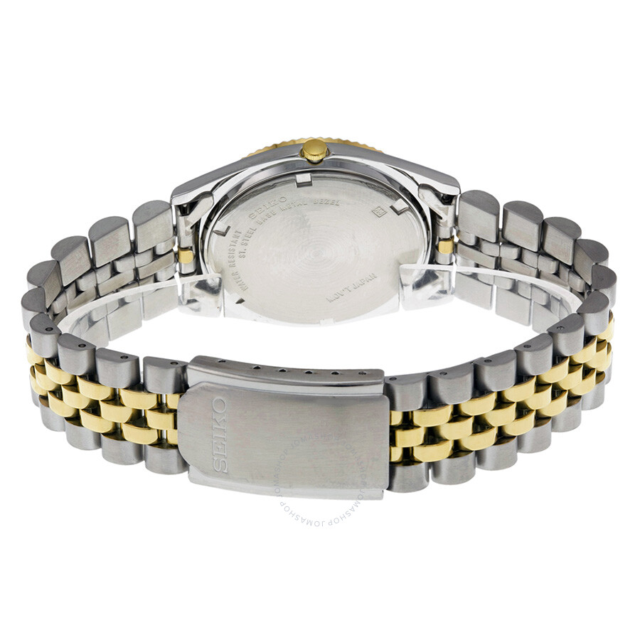 ed7171b2a ... Seiko Day/Date Dress Two-tone Stainless Steel Men's Watch SGF204 ...