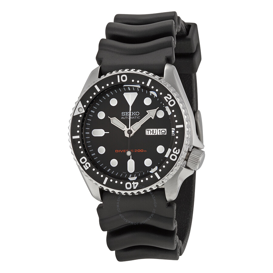 seiko divers automatic men 39 s watch skx007k1 diver seiko watches jomashop On seiko diver watch