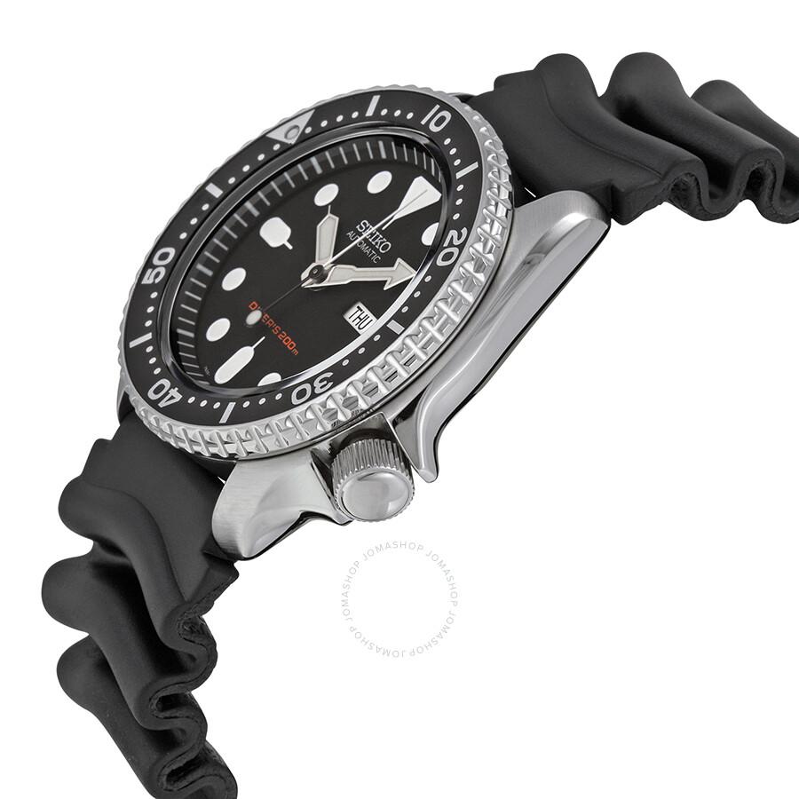 seiko divers automatic men 39 s watch skx007k1 diver. Black Bedroom Furniture Sets. Home Design Ideas