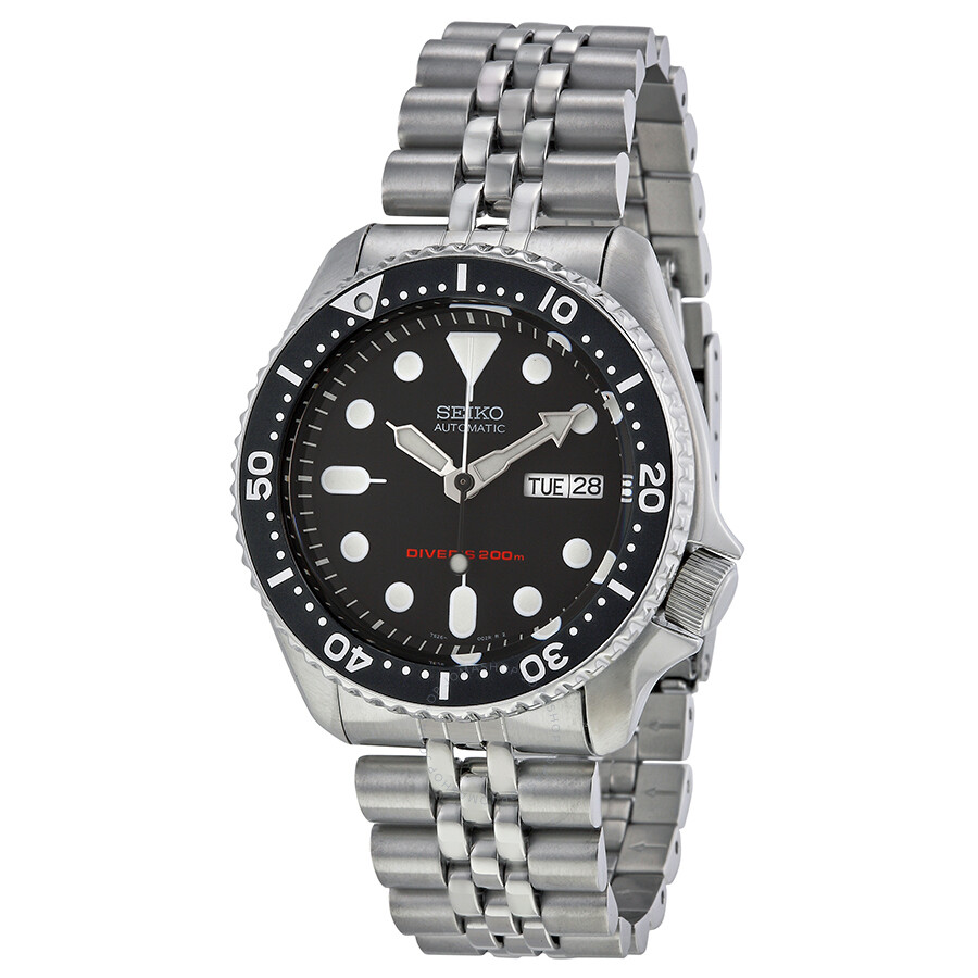 seiko divers automatic men 39 s watch skx007k2 diver seiko watches jomashop On seiko diver watch