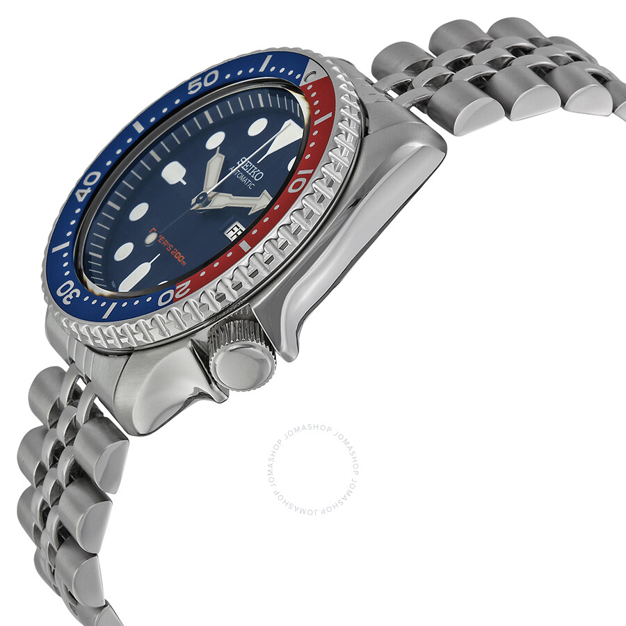 Seiko Divers Automatic Pepsi Bezel Navy Blue Dial Men's Watch SKX009K2