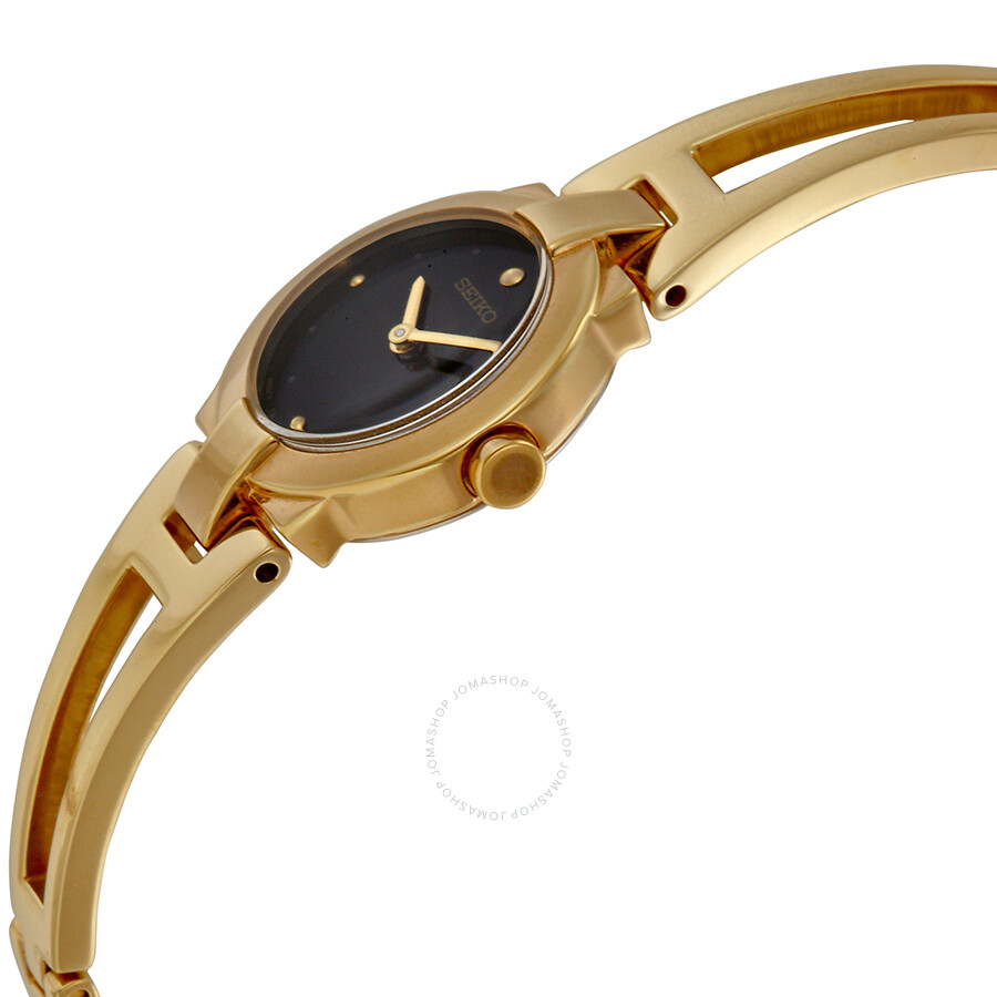 Seiko Gold Tone Stainless Steel Ladies Dress Watch SUJ706 ...