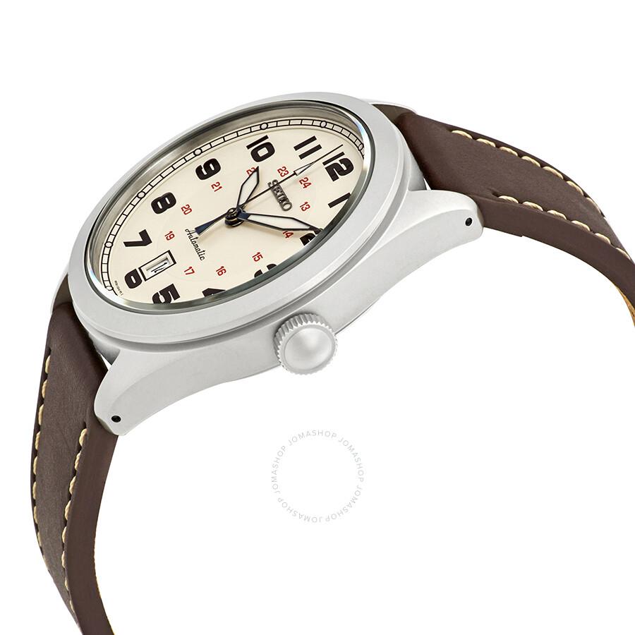 a060b5ab9e4 Seiko Neo Sports Automatic Cream Dial Men s Watch SRPC87K1 - Seiko ...