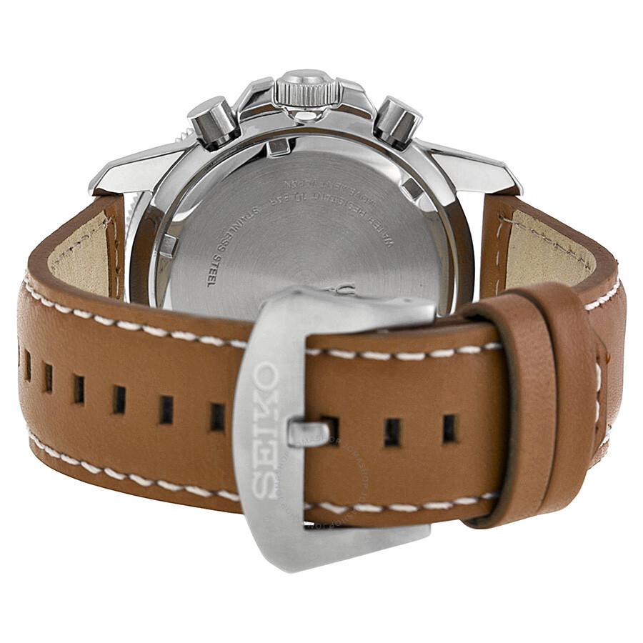 Seiko Prospex Solar Chronograph Compass Black Dial Men S Watch