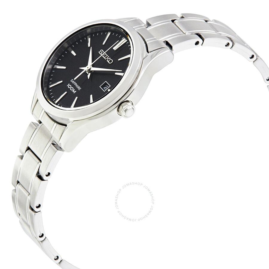 [SUJET OFFICIEL] : Les montres pour dames ❤ - Page 2 Seiko-sapphire-black-dial-ladies-watch-sxdg19p1_2