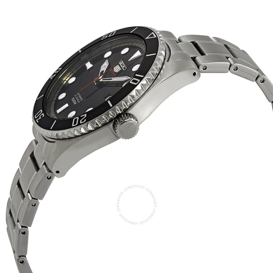 1c8f60368 Seiko Series 5 Automatic Black Dial Men's Watch SRPB91 - Seiko 5 ...