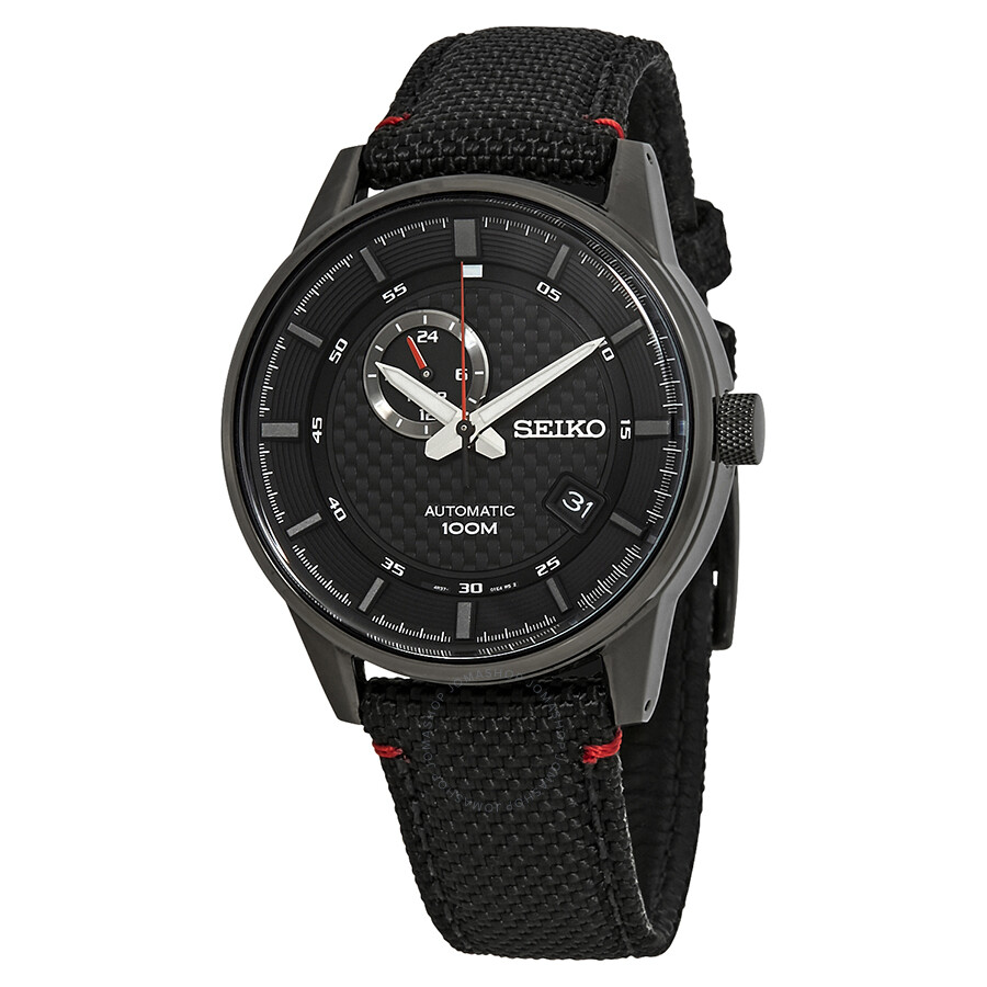 Seiko Sports Automatic Black Dial Men s Watch SSA383K1 - Neo Sports ... 462c937caac6