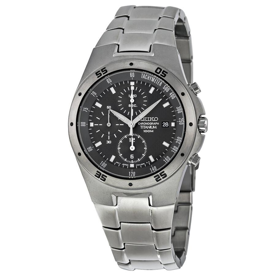 seiko titanium chronograph s snd419 titanium