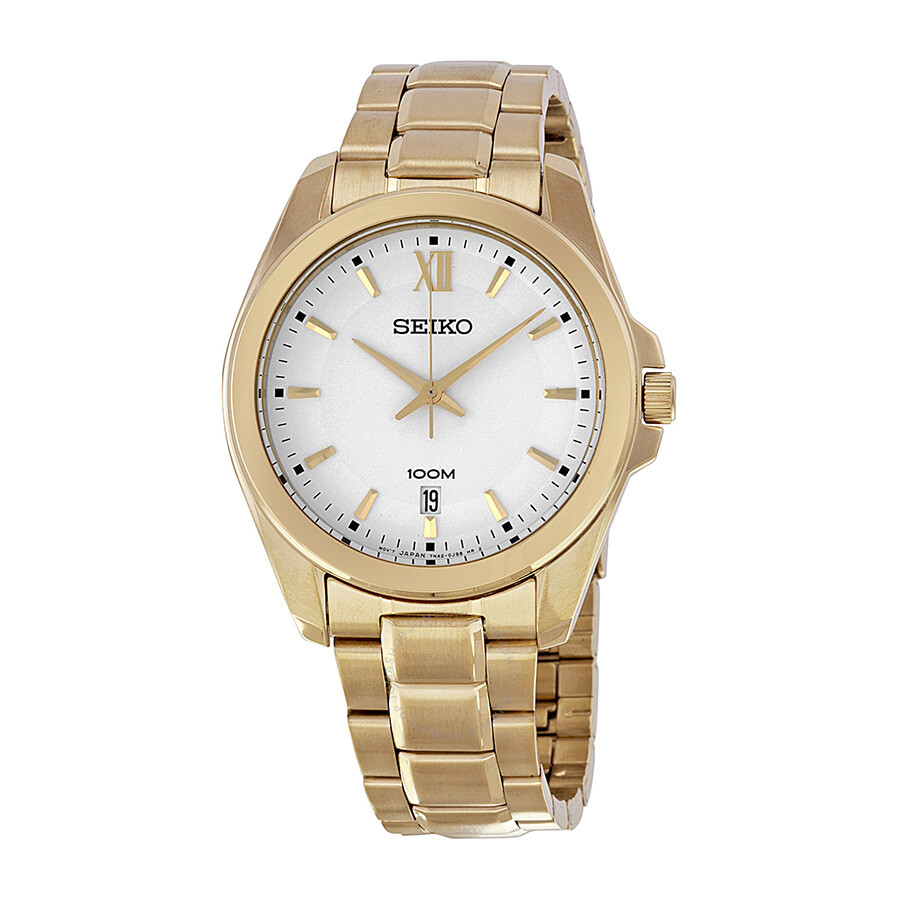 seiko white gold plated s sgeg64 other
