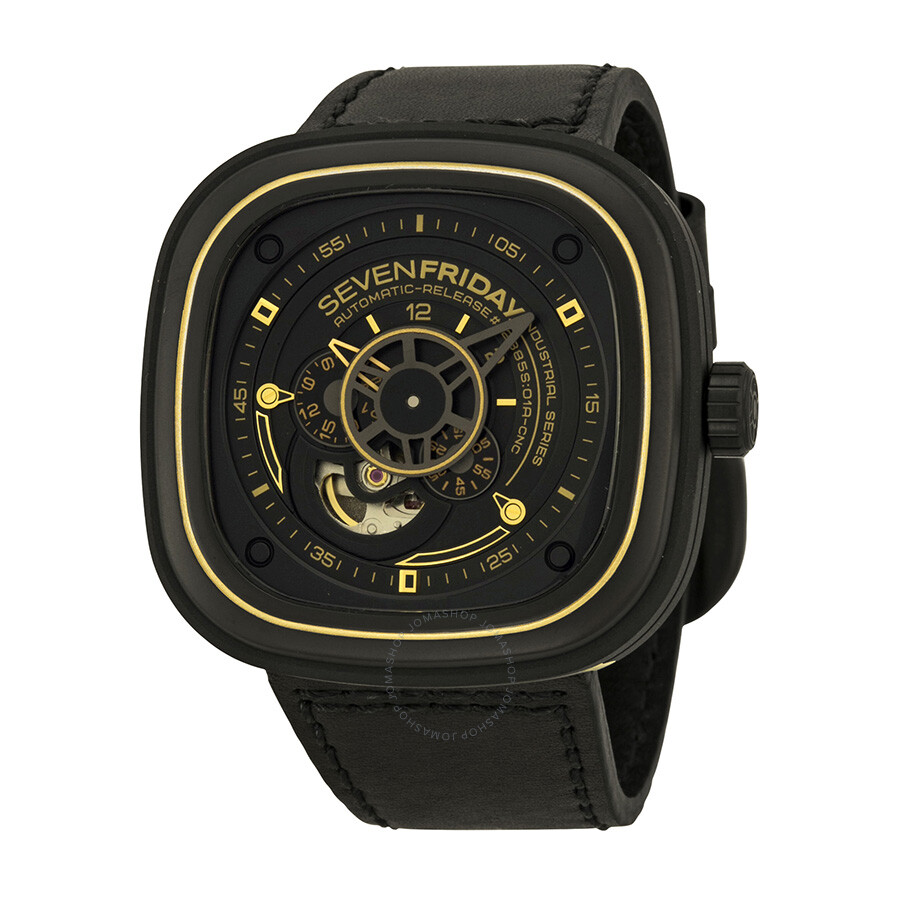 Sevenfriday industrial revolution automatic men 39 s watch p2 2 sevenfriday watches jomashop for Sevenfriday watches