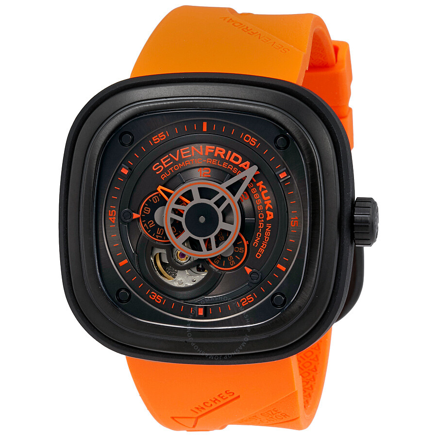 Sevenfriday p series automatic men 39 s watch p3 04 kuka sevenfriday watches jomashop for Sevenfriday watches