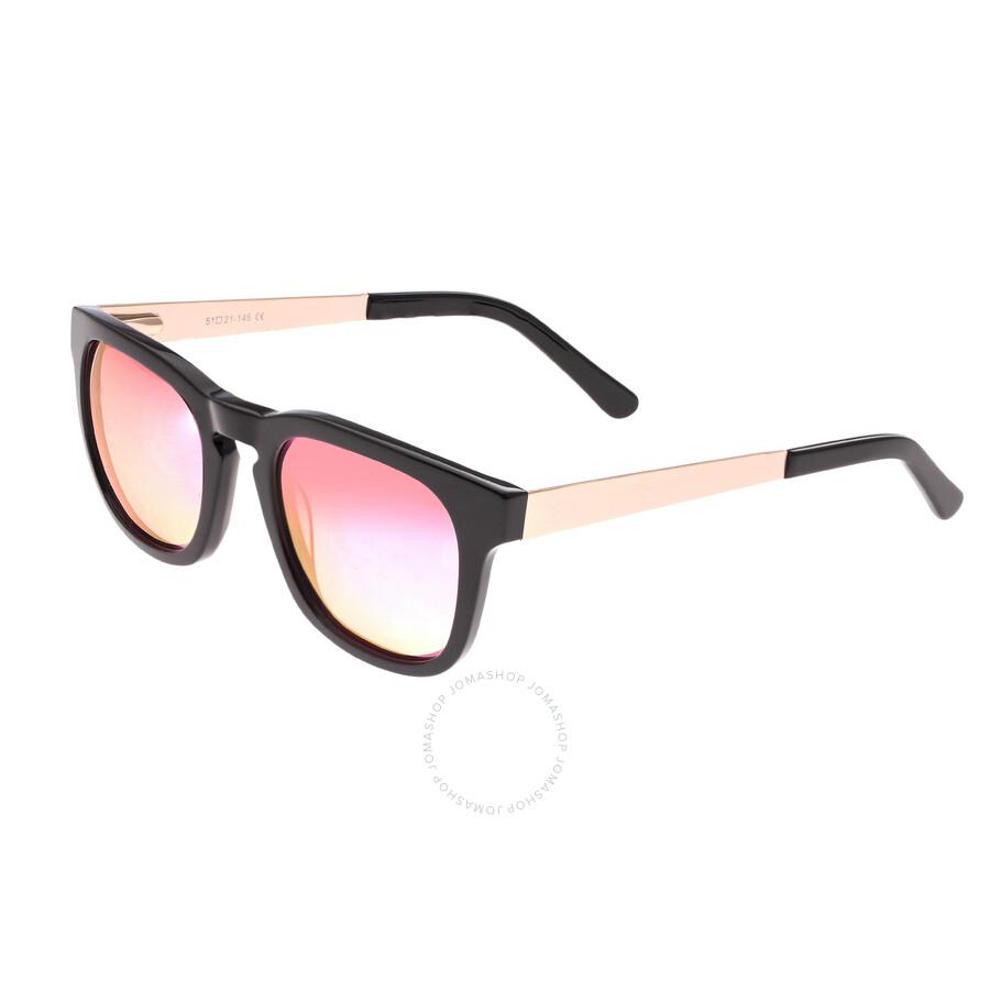 9e8a8d02e Sixty One Twinbow Pink Wayfarer Sunglasses S132PK - Sixty One ...
