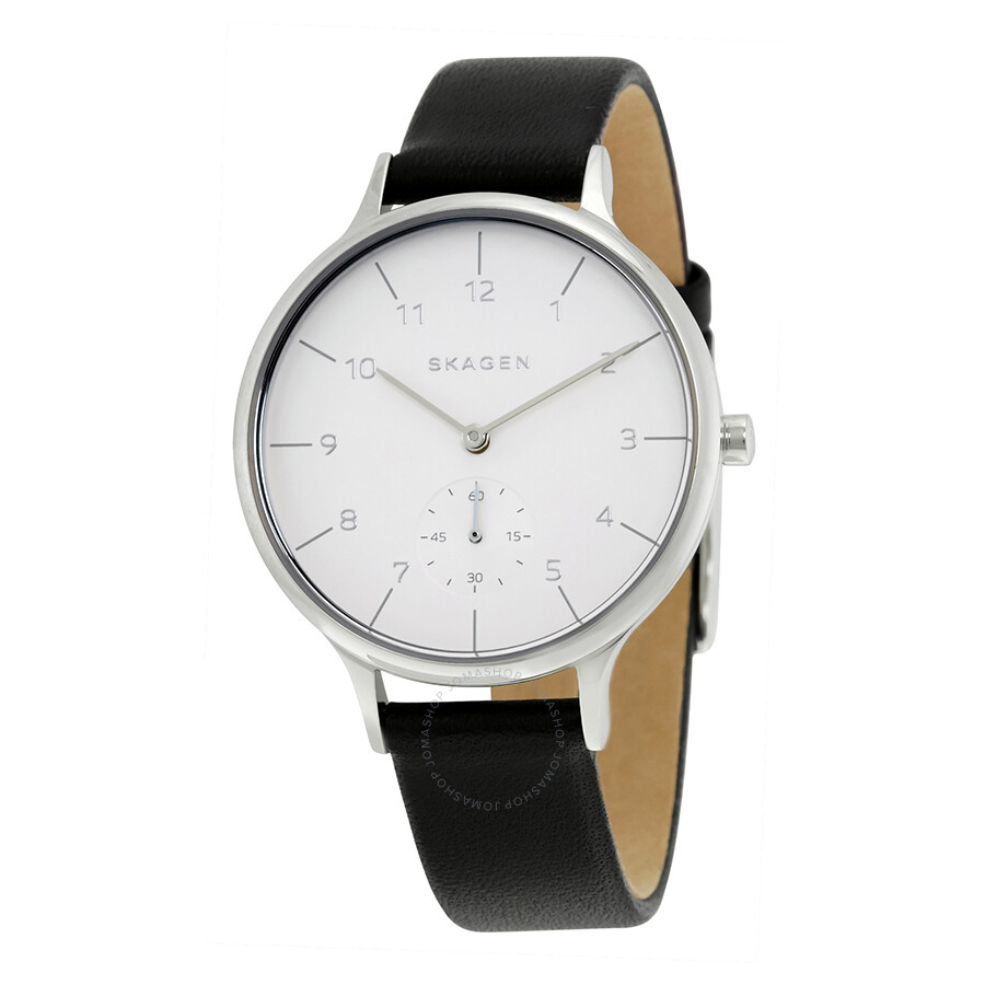 Skagen anita silver dial ladies casual watch skw2415 anita skagen watches jomashop for Casual watches