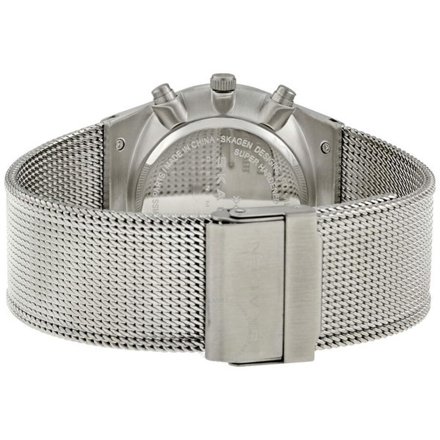 Skagen 355XLSSB Steel Collection Watch Review: Distinctly ...