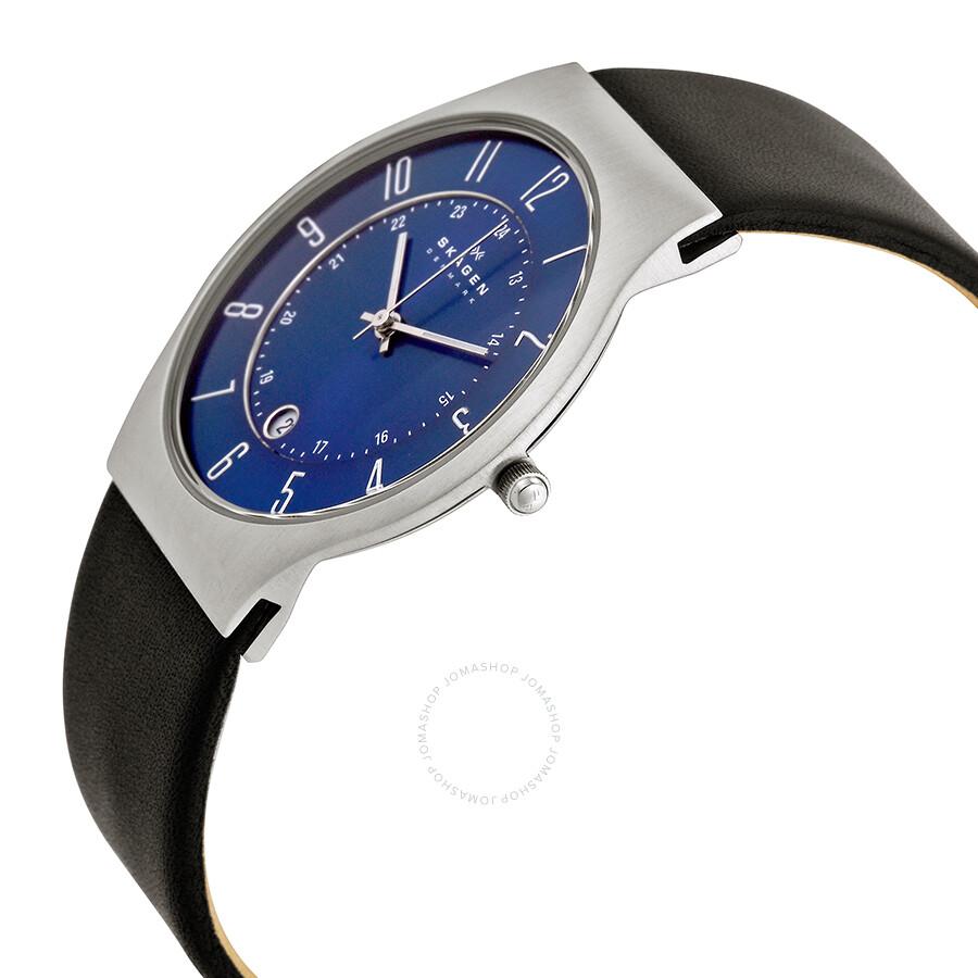 skagen steel perfect blue dial men s watch 233xxlsln skagen steel perfect blue dial men s watch 233xxlsln