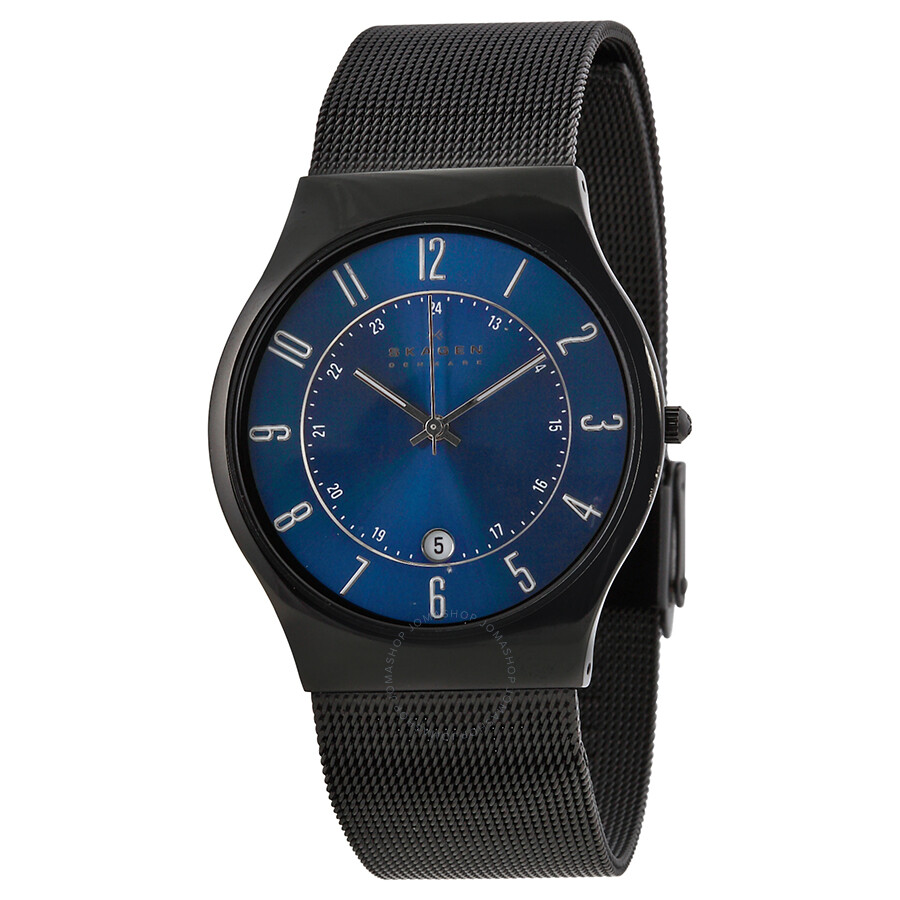 Skagen Denmark Titanium Men S Watch 233xltmn Titanium Skagen Watches Jomashop