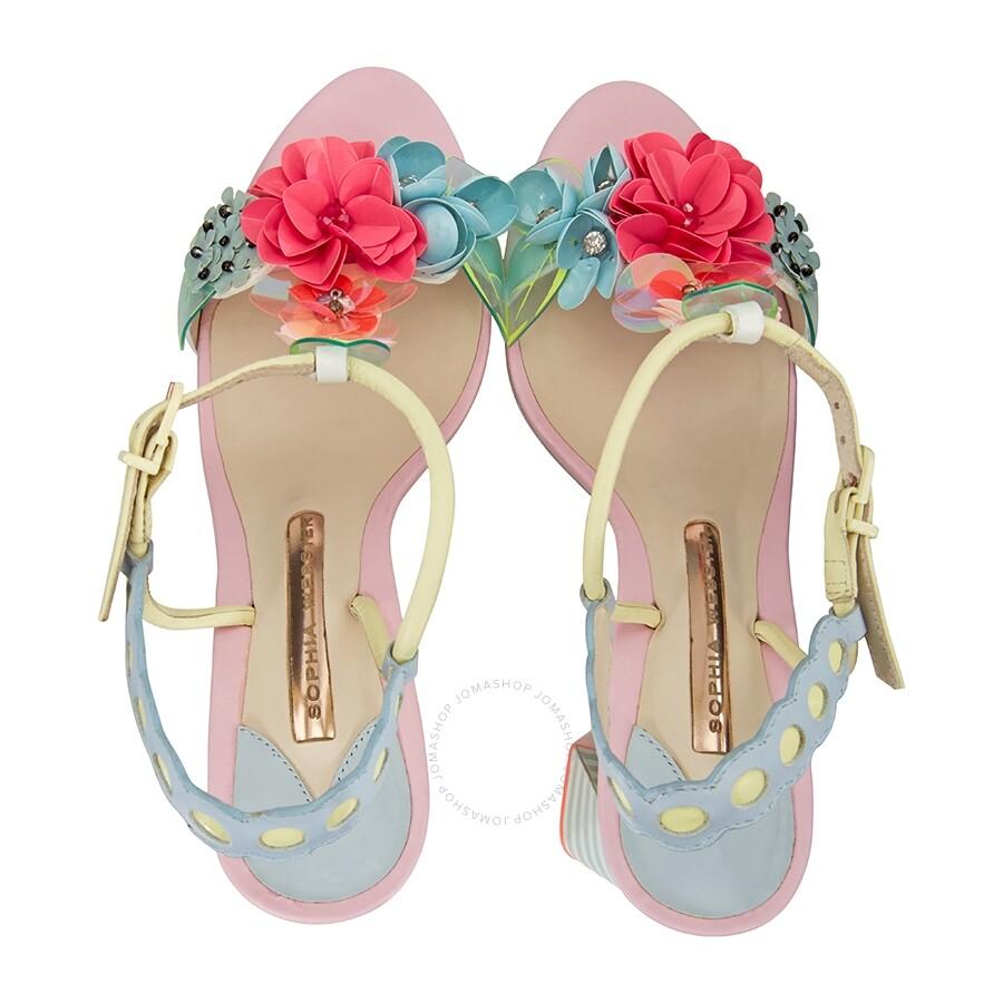 926c7efa26b Sophia Webster Lilico Sequin-Leather Mid Sandals - Shoes - Fashion ...