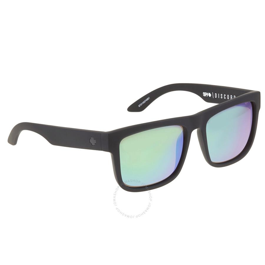 Spy Optic Discord Polarized Flat Sunglasses Spy Optic Discord Flat Sunglasses 673119374280