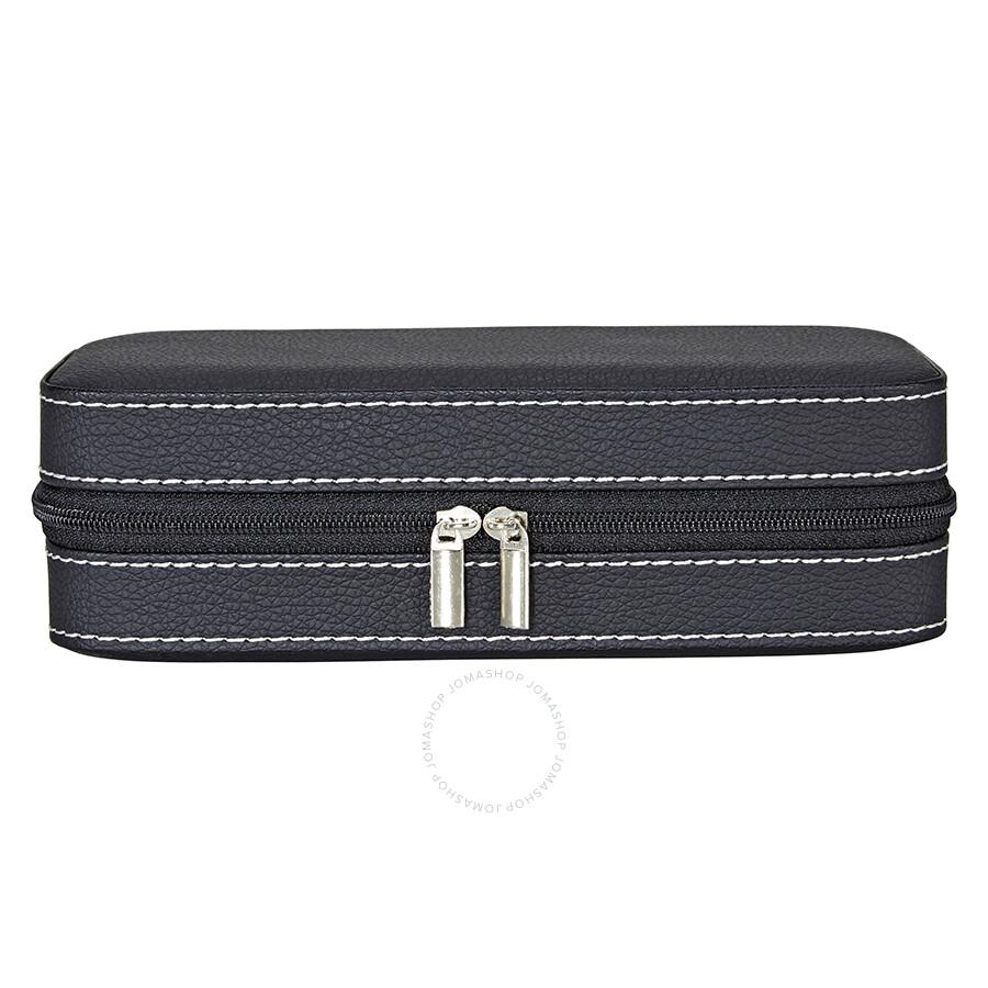 7a5eb2d7fdf0 StarFive Luxury Double Travel Watch Case - Black LS5-2W-BR - Watch ...