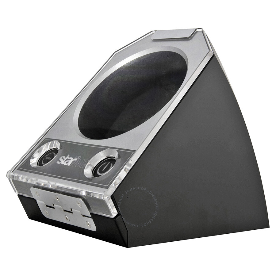 StarFive Silver Single Automatic Watch Winder with 4 ...
