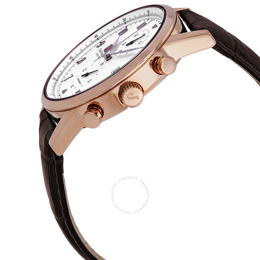 64afdec46 ... Steinhausen Lugano Chronograph White Dial Men s Watch S0921 ...