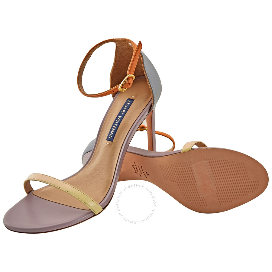 Stuart Weitzman Razzle 75 Crystal-Embellished Sandals