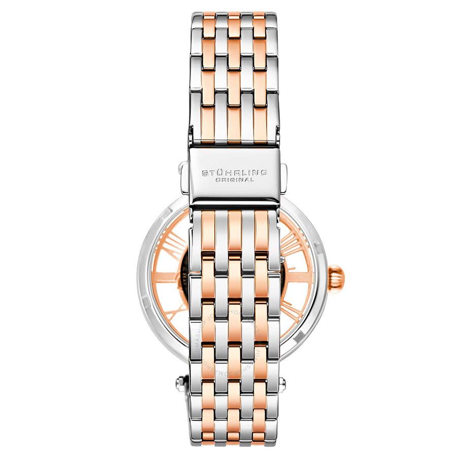 Legacy Automatic Rose Skeleton Dial Ladies Watch M13604