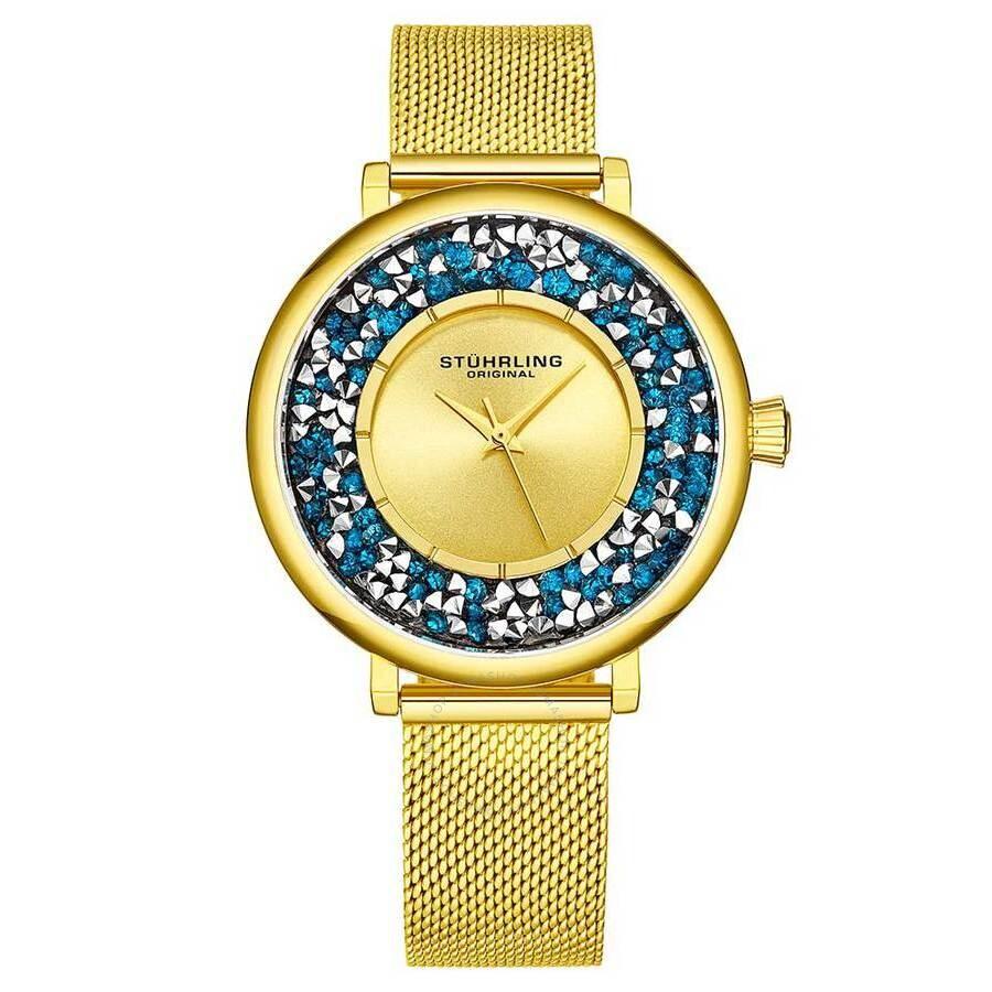 Symphony Gold-tone Dial Ladies Watch M15460