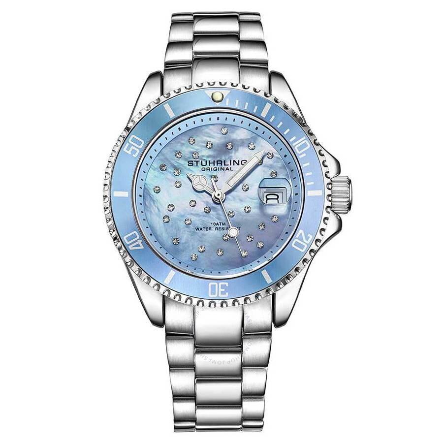 Vogue Blue Dial Ladies Watch M15868